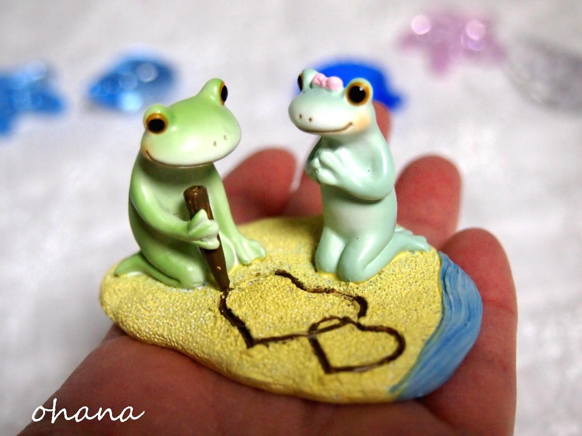 砂浜のカップル