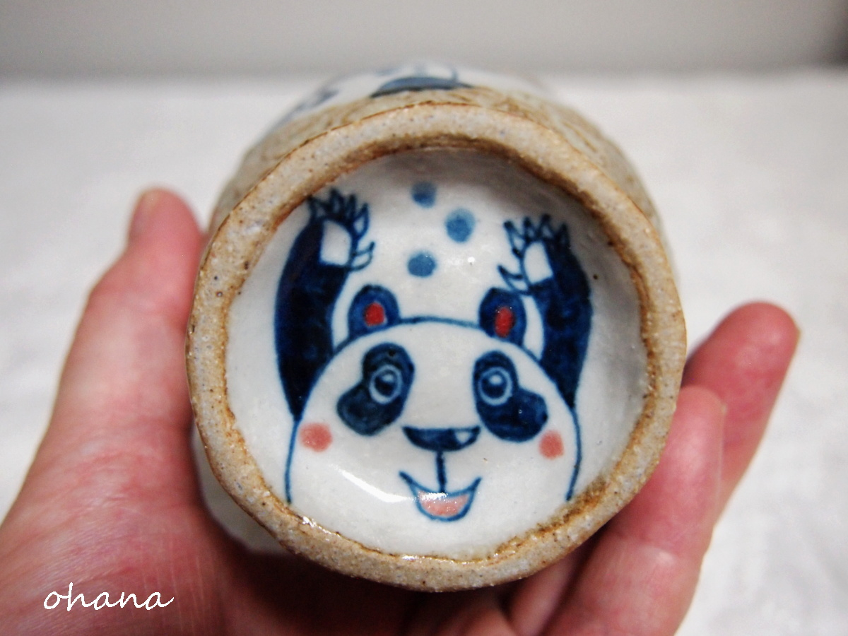 パンダのカップ